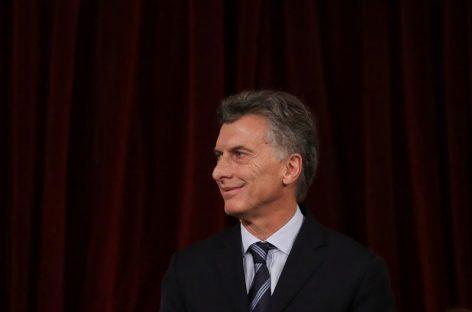 Macri expresa apoyo a gobernadora que recibió amenazas