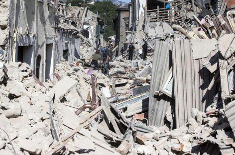 A 62 aumentó el número de fallecidos por el terremoto en Italia