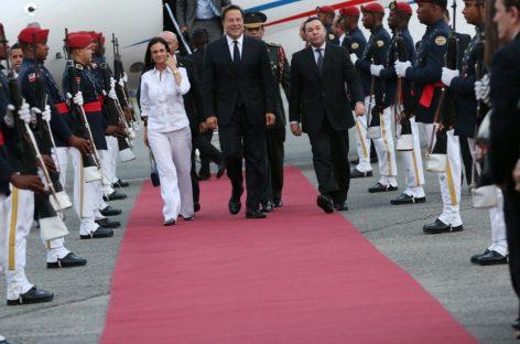 Varela viajó a Dominicana a la investidura de Danilo Medina
