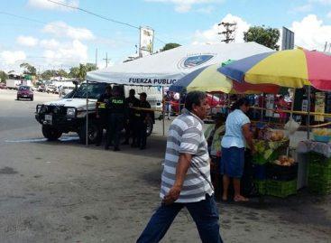 Policía refuerza seguridad en la frontera entre Panamá y Costa Rica