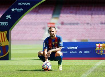 Alcácer: «Será un privilegio crecer al lado de Luis, Leo y Neymar»