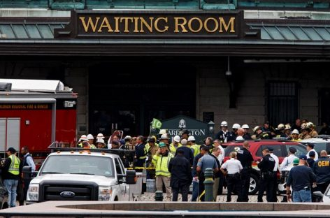 Tres muertos y 200 heridos dejó accidente de tren en Nueva Jersey