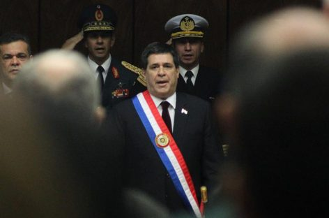 Cartes preside 84 aniversario de la victoria paraguaya en guerra contra Bolivia