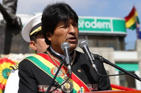 El oficialismo boliviano insistirá en una presidencia más para Morales