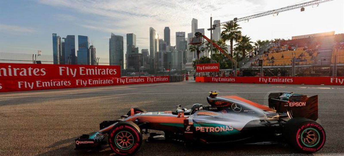 Circuito F1 Singapur : F nico rosberg fue el más rápido en el segundo entrenamiento del