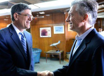 Macri se reúne en Argentina con elsecretario del Tesoro de EE.UU.