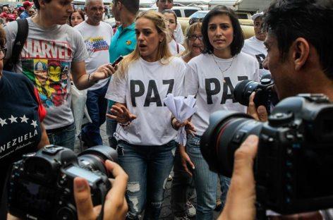 Lilian Tintori denuncia que Madurodio la orden de que «losgrupos agresivos actúen»