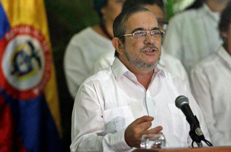 Líder de las FARC llegó a Colombia para la conferencia en la que aprobarán el acuerdo de paz