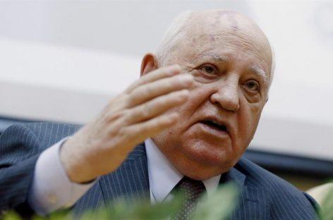 Gorbachov: urge recuperar el diálogo nuclear entre Rusia y EEUU