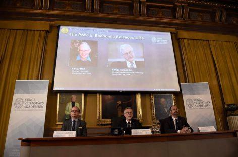 Oliver Hart y Bengt Holmström ganaronNobel de Economía 2016