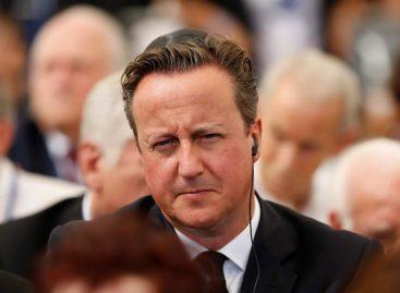 Ex primer ministro David Cameron revela su nuevo trabajo