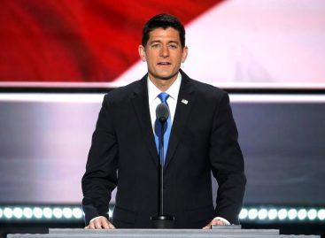 Ryan lamenta «giros oscuros» de la campaña y evitó hablar de Trump