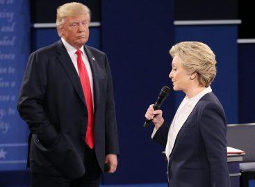 Donald Trump insinuó que Hillary Clinton se droga