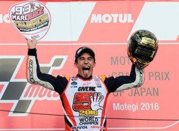 Márquez consiguió contra pronóstico su tercer título mundial de MotoGP