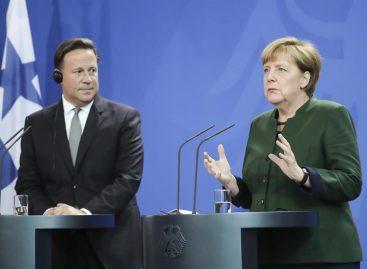 Merkel destaca pasos «correctos» de Panamá y vislumbra acuerdo bilateral