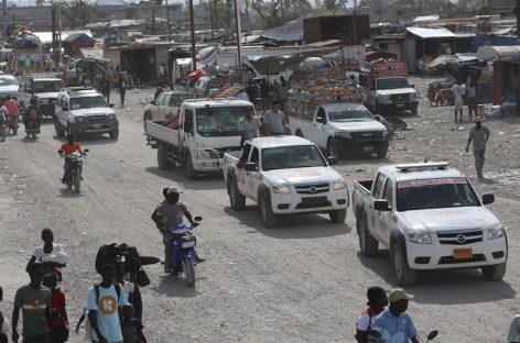 Cruz Roja redobló acciones en Haití para contener brote de cólera
