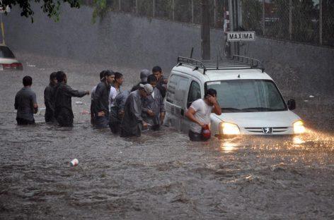 Decretaron alerta roja en localidad de Honduras por fuertes lluvias