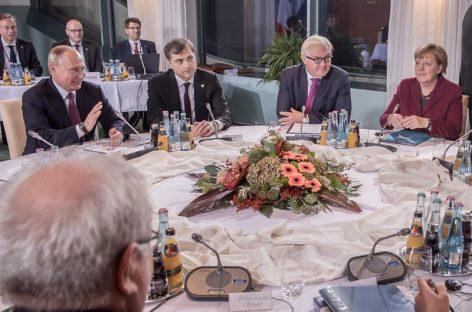 Merkel y Putin resucitan el «formato Normandía»