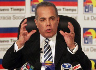 Conceden casa por cárcel a opositor venezolano Manuel Rosales