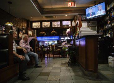 Según la CNN, Clinton ganó con el menor margen su tercer debate