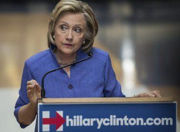 Clinton sobre Trump: «Ya ni siquiera pienso en responder»