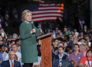 Clinton y Trump apuran la recta final electoral en estados claves