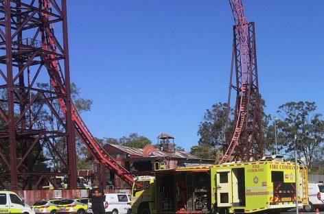 Cuatro muertos tras accidente en parque de atracciones australiano