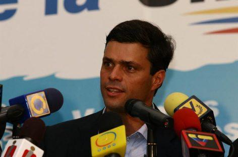 Partido de Leopoldo López no dialogará con Gobierno de Maduro