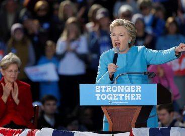 Hillary Clinton recibió respaldo deAdele en concierto