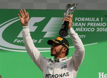 Hamilton ganó en México y continúa a la caza de Rosberg