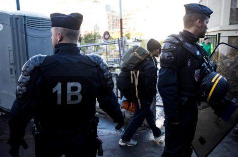 Policía francesa identificó acientosde inmigrantes