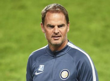 Inter destituyó al técnico holandés Frank De Boer