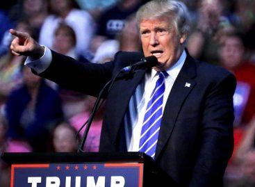 Trump rebasa a Clinton por un punto a siete días de los comicios