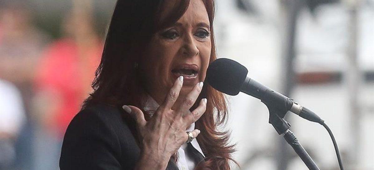 Cristina Fernández llegó a tribunales para declarar por lavado de dinero