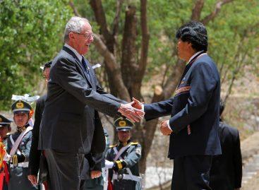 Evo Morales y Kuczynski pactaron facilitar el acceso de Bolivia al Pacífico