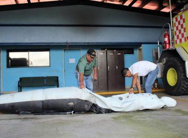 Encontraron nuevo flotador del helicóptero accidentado en Panamá