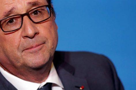Hollande mostró su apoyo implícitoaHillary Clinton