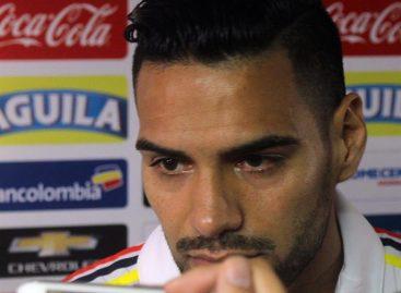 Con Falcao a la cabeza, Colombia entrenó con el grupo completo