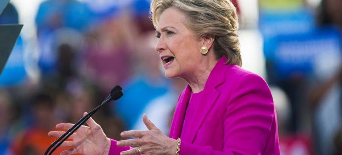 Hillary Clinton hablará este miércoles ante sus partidarios en Nueva York