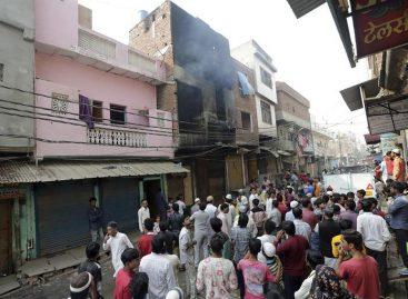 Trece personas murieron enunafábricatextil de la India