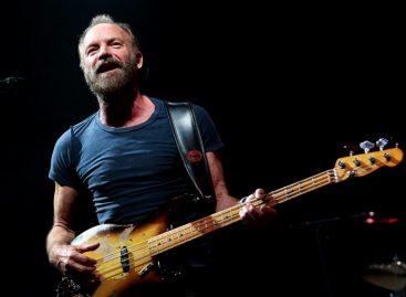 Sting presentó su nuevo disco «57th and 9th» cargado de rock