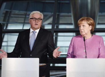 Merkel formalizó a Steinmeier como «candidato correcto» a la presidencia