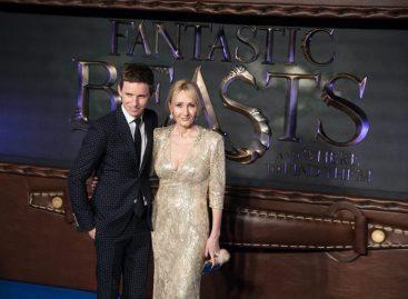 J.K. Rowling debutó exitosamente como guionista