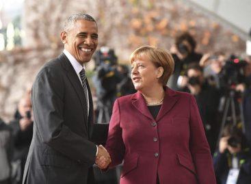Obama inició en Berlín su última cita con los aliados europeos