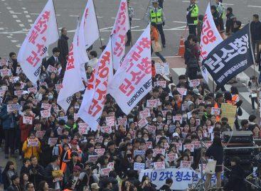 Nuevas protestas intensificaron presión sobre la presidenta surcoreana