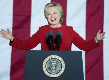 Clinton superó en 2 millones de votos a Trump, que ganó por Colegio Electoral