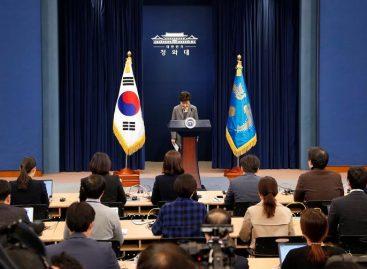 Presidenta surcoreana prometió dimitir por el caso «Rasputina»
