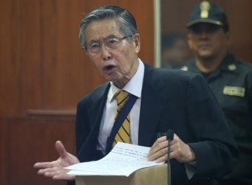 Expresidente Fujimori fue internado en clínica de Lima