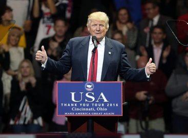 Donald Trump renovó su compromiso electoral sobre la inmigración, elmuro y el Obamacare