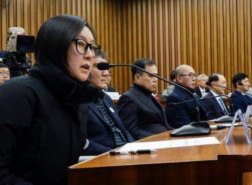 La «Rasputina» surcoreana no acudió a la sesión de investigación